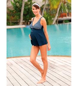 Sunflair Maternity Sail Away Tankini Set