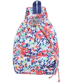 Roxy Girls' Pinch It Up Floral Backpack (Kid)