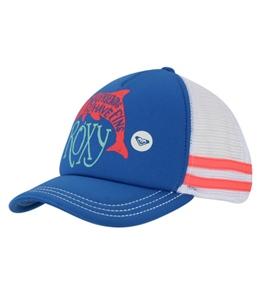 Roxy Girls' Splashin Dolphin Trucker Hat (Kid)