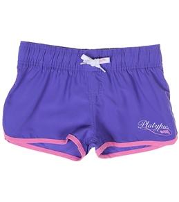 Platypus Girls' Butterfly Shortie Boardshort (10-14)