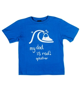 Quiksilver Boys' Rad Dad Tee (5-7X)