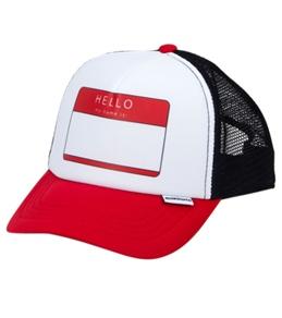 Quiksilver Boys' Diggler Hello Trucker Hat (Kids)