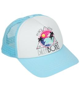 Billabong Billie Girls Pretty Please Trucker Hat (Kids)