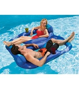 Swimways Spring Float Recliner Duet