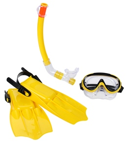 Poolmaster Caribbean Junior Combo Swim Set (Shoe Size 2-7)