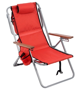 Rio Brands Lay Flat Cooler Backpack Chair