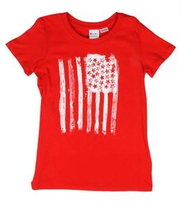 Roxy Girls' USA Flag S/S Tee (7-16)