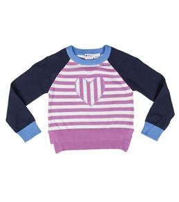 Roxy Girls' Hear It Loud Heart L/S Sweater (4-7)