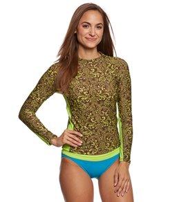 EQ Swimwear Tahitian L/S Rash Guard
