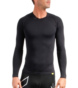 2XU Men's Engineered Knit Baselayer L/S