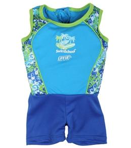 Aqua Leisure Boys' 1PC Float Suit (20-55lb)