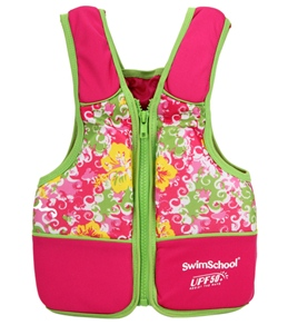 Aqua Leisure Girls' Swim Vest (20-55lb)