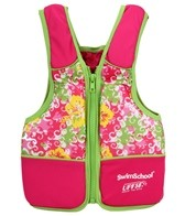 Aqua Leisure Girls' Floral Print Swim Vest (20-55lb)