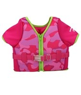 Aqua Leisure Girls' S/S Swim Vest (20-55lb)