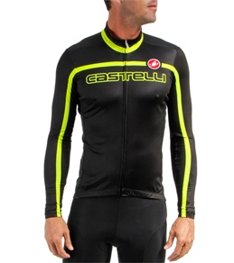 Castelli Men's Velocissimo Team L/S FZ Cycling Jersey