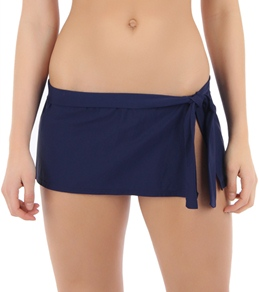 Tommy Bahama Pearl Solid Skirted Hipster Bottom