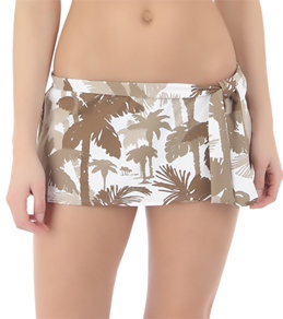 Tommy Bahama Coconut Grove Palm Trees Skirted Hipster Bottom