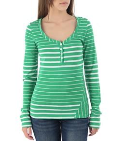 Volcom Women's Between Lines L/S Shirt