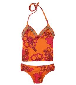 Raisins Girls' Tahitian Sands Pacific Palisades Tankini Set (4-6x)