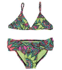 Raisins Girls' Running Wild Laguna Beach Bikini Set (7-16)