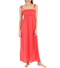 Jordan Taylor Martime Smocked Maxi Dress