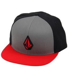 Volcom Men's Stone Color Snap Back Hat