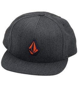 Volcom Men's Stone Fabric Snap Back Hat