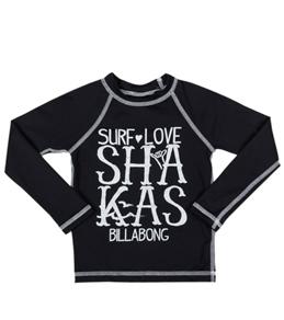 Billabong Billie Girls Shaka L/S Rashguard (4-14)