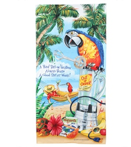 S B Designs Day On Vacation Towel