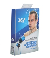 X-1 Audio Surge Bass Amplified Earphones