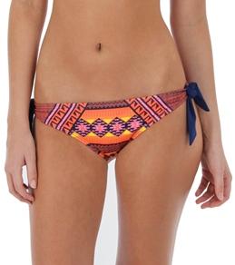 Hurley Swim Mayan Stripe Tie Side Bottom