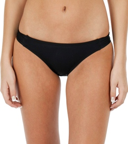 Hurley Swim One & Only Solid Tab Side Bottom