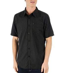Quiksilver Men's Train Tracks S/S Shirt