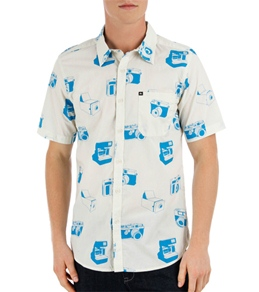 Quiksilver Men's Camera Obscura S/S Shirt