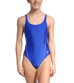 Speedo Solid Piped Pulse Back