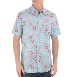 Lost Men's Ahoy Paloi S/S Shirt