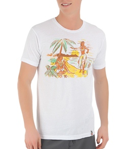 Lost Men's Tropical Beach Party S/S Tee