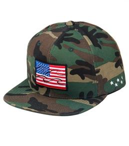 Billabong Native Camo Snap Back Hat