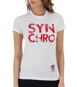 USA Synchro Women's Logo Tee