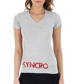 USA Synchro Women's Back Logo Tee