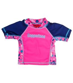Coppertone Kids S/S Rashguard (2T-4T)