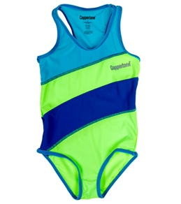 Coppertone Kids Striped One Piece Suit (4-6X)