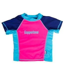 Coppertone Kids S/S Rashguard (4-6X)