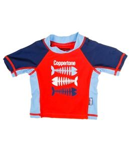 Coppertone Kids Fish S/S Rashguard (2T-4T)