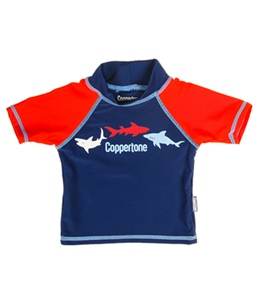 Coppertone Kids Shark S/S Rashguard (2T-4T)