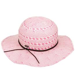 Roxy Girls' Into The Water Straw Hat (Kids)