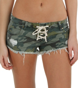 Billabong Women's Lite Hearted Camo Short