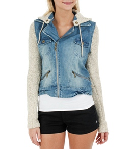 Billabong Women's Rev Up Moto Jacket