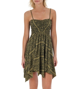 Billabong Women's Cold Sand Strapless Dress