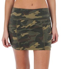 Billabong Women's I Was Here Camo Skirt